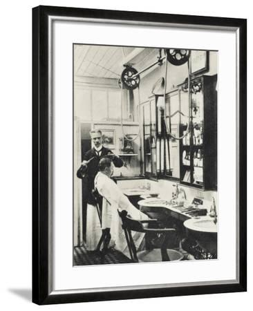 Trumpers Barbers - Mayfair, London--Framed Photographic Print