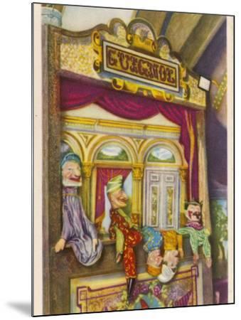 Tournai, Belgium Traditional Guignol De La Maison Tournaisienne (Puppet Theatre)--Mounted Photographic Print