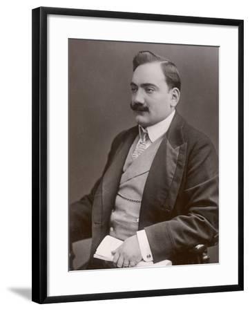 Enrico Caruso Italian Opera Singer-W&d Downey-Framed Photographic Print