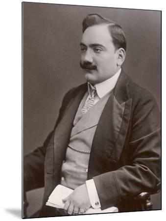 Enrico Caruso Italian Opera Singer-W&d Downey-Mounted Photographic Print
