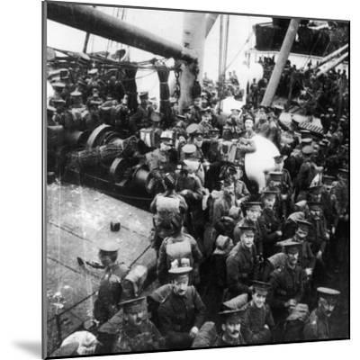 Ss Lake Michigan 1914-Robert Hunt-Mounted Photographic Print