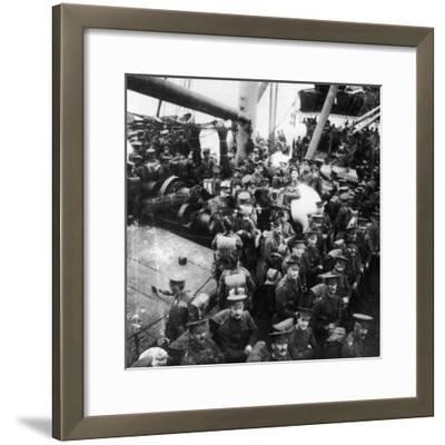 Ss Lake Michigan 1914-Robert Hunt-Framed Photographic Print