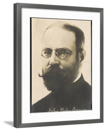 John Philip Sousa, Nicknamed the March King--Framed Photographic Print