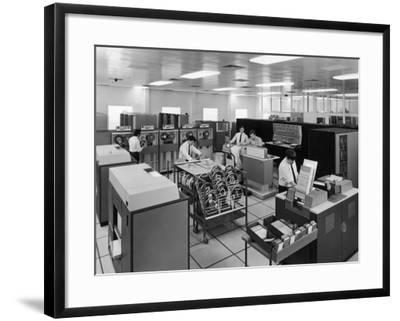 The Central Computer at Harwell--Framed Photographic Print