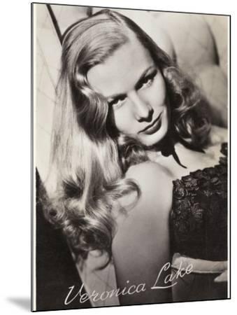 Veronica Lake (Constance Ockleman) American Film Actress--Mounted Photographic Print