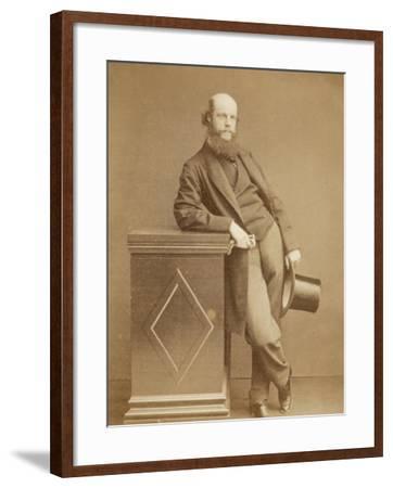 Laurence Oliphant English Writer- Watkins-Framed Photographic Print