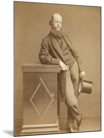 Laurence Oliphant English Writer- Watkins-Mounted Photographic Print