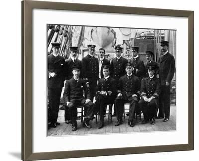The Officers and Scientists of the National Antarctic Expedition--Framed Photographic Print