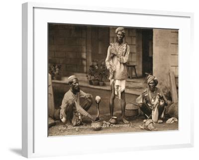 Three Samp Wallahs, or Snake Charmers-Peter Higginbotham-Framed Photographic Print