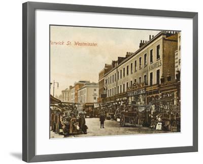 Warwick Way, Pimlico, London--Framed Photographic Print