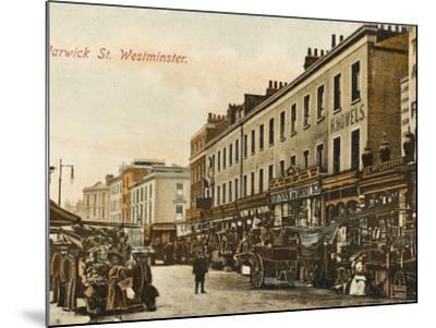 Warwick Way, Pimlico, London--Mounted Photographic Print