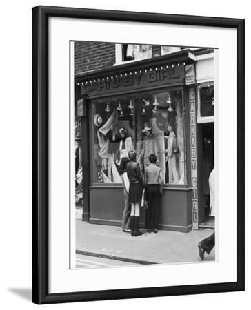 Carnaby Street Boutique--Framed Photographic Print