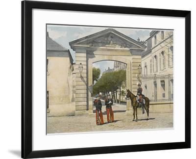 Entrance to Saint-Cyr--Framed Photographic Print
