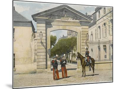 Entrance to Saint-Cyr--Mounted Photographic Print