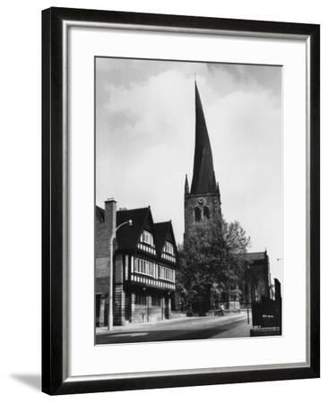 Chesterfield Church--Framed Photographic Print