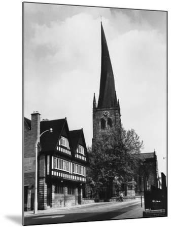 Chesterfield Church--Mounted Photographic Print