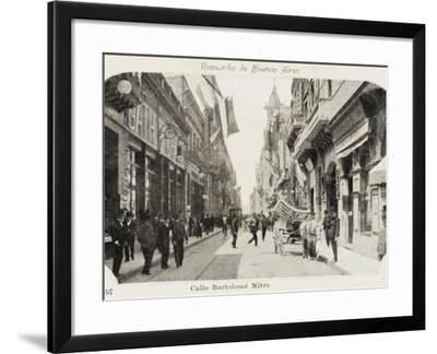 Bartholemew Mitre Street in Buenos Aires, Argentina--Framed Photographic Print