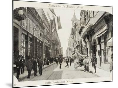 Bartholemew Mitre Street in Buenos Aires, Argentina--Mounted Photographic Print