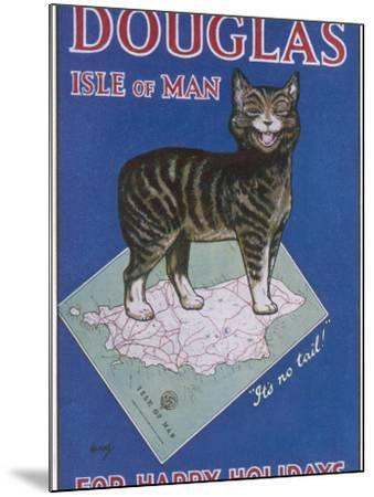 Douglas, Isle of Man: for Happy Holidays--Mounted Photographic Print