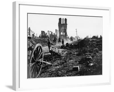 Battle of Ypres 1918-Robert Hunt-Framed Photographic Print
