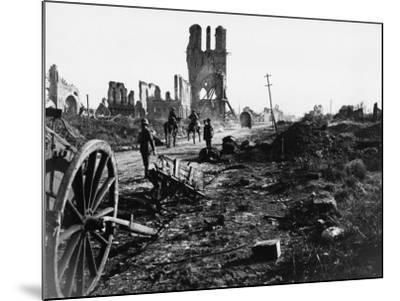 Battle of Ypres 1918-Robert Hunt-Mounted Photographic Print