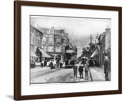 Forest Road, Walthamstow, London Borough of Waltham Forest--Framed Photographic Print