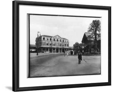 Great Western Railway Station Newton Abbot Devon--Framed Photographic Print