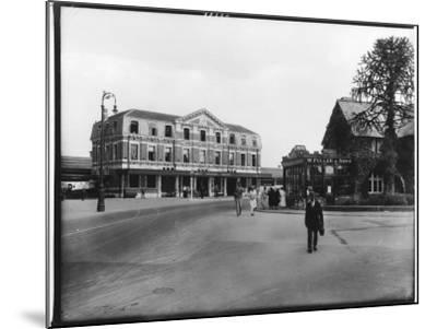 Great Western Railway Station Newton Abbot Devon--Mounted Photographic Print