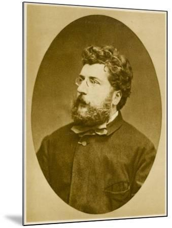 Georges Bizet French Musician, Composer of 'Carmen' and Others, in 1874--Mounted Photographic Print