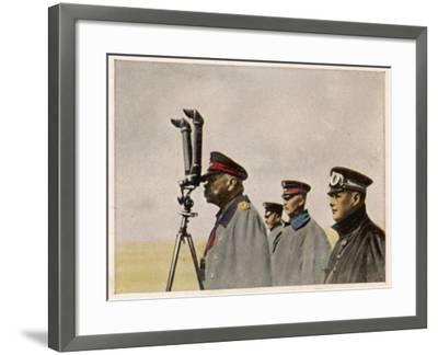 Hindenburg Periscope--Framed Photographic Print