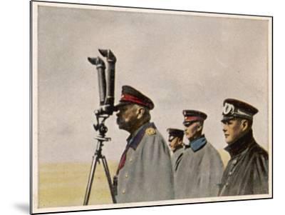 Hindenburg Periscope--Mounted Photographic Print
