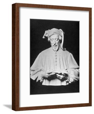 Geoffrey Chaucer English Poet--Framed Photographic Print