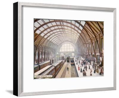 London Kings Cross--Framed Photographic Print