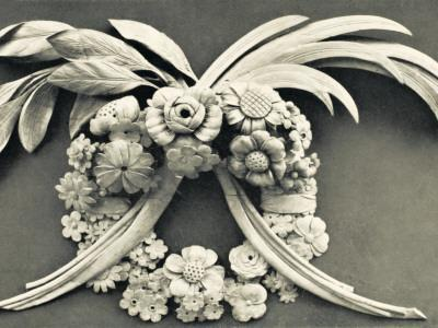 Architectural Details - Carving by Grinling Gibbons--Framed Photographic Print