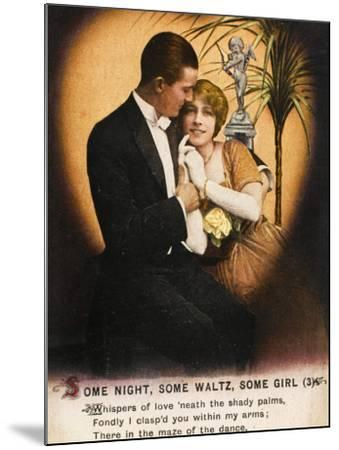 Couple Waltz 1914--Mounted Photographic Print