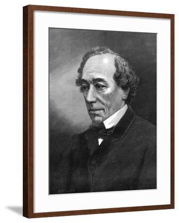 Benjamin Disraeli, (1804-1881)--Framed Photographic Print