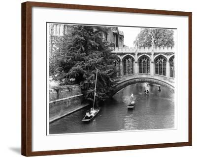 Punting at Cambridge-Henry Grant-Framed Photographic Print