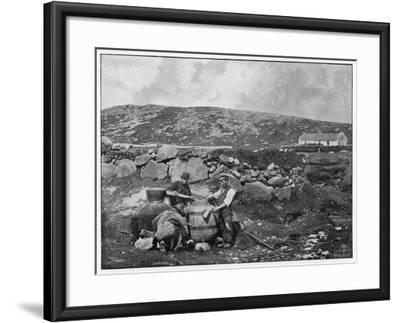 An Illicit Still in Donegal (Ireland)--Framed Photographic Print