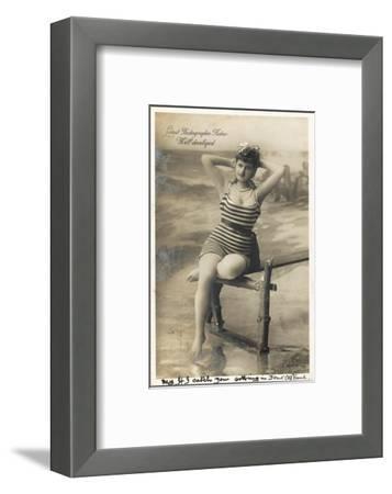 Bathing Beauty--Framed Photographic Print