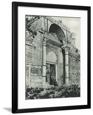 Constantinople - Golden Gate, Yedikule--Framed Photographic Print