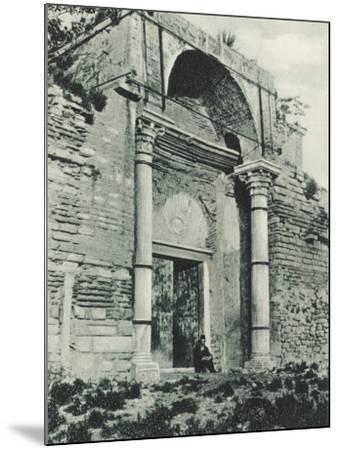 Constantinople - Golden Gate, Yedikule--Mounted Photographic Print