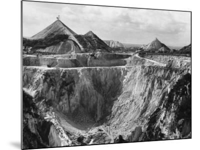 China Clay Quarry--Mounted Photographic Print