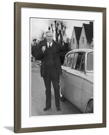 Harold Wilson--Framed Photographic Print