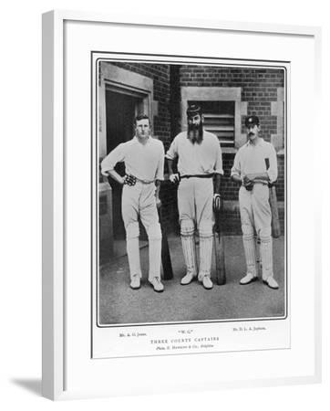 Grace, Jones and Jephson--Framed Photographic Print