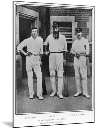 Grace, Jones and Jephson--Mounted Photographic Print