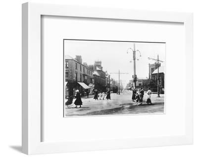 Lord Street Fleetwood Lancashire--Framed Photographic Print