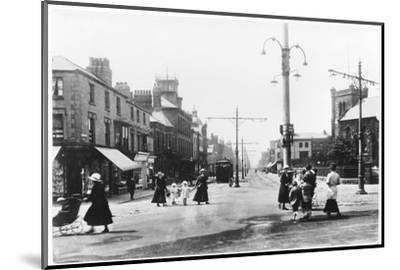 Lord Street Fleetwood Lancashire--Mounted Photographic Print