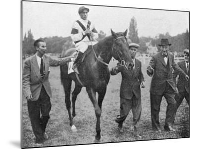 Nearco after Winning Grand Prix De Paris--Mounted Photographic Print