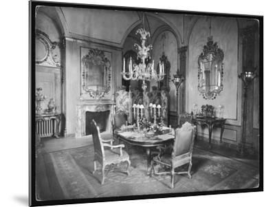 Italian Dining Room--Mounted Photographic Print