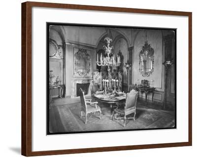 Italian Dining Room--Framed Photographic Print